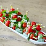 Tomate-Mozarella-Spieße